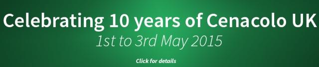 Cenacolo 10 year Banner